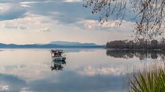 Τranquility (nikhrist) Tags: tranquility calm boat laketrichonida aetoloakarnania greece nickchristodoulou