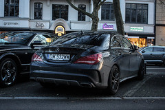 Poland (Wroclaw) - Mercedes-Benz CLA 45 AMG C117 (PrincepsLS) Tags: poland polish license plate dw wroclaw germany berlin spotting mercedesbenz cla 45 amg c117