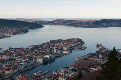 Bergen (_quintin_) Tags: bergen norway harbor floyen ocean view