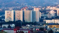 Sochi Buildings (DVchigarev) Tags: sochi russia buildings houses urban street subtropical resort life wonderful mountain