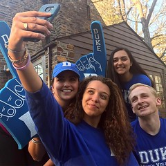 You're the one! Congrats to #Duke2021! 😈💙 #dukefam #pictureduke #decisionday (Duke University) Tags: ifttt instagram duke university