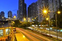 香港九龍灣觀塘道 Kwun Tong Rd, Kowloon Bay, Hong Kong (leo_li's Photography) Tags: 夜景 cityscape longexposure nightscape kwuntongroad kowloonbay hongkong 觀塘道 香港 九龍 kowloon 九龍灣