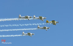 Display team (paul giles1) Tags: show blue sky motion plane canon paul photography team colours display smoke a