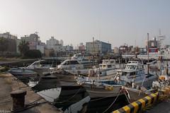 Morning fishing port (kasa51) Tags: morning sea reflection japan harbor fishingboat fishingport shimonoseki
