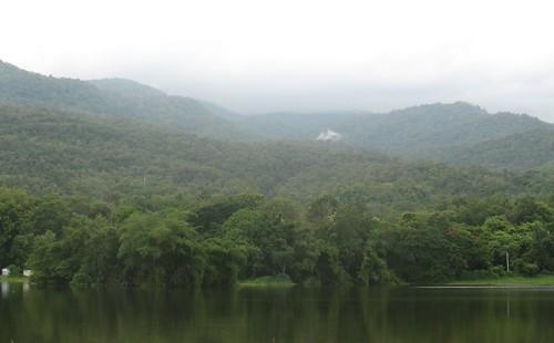 The Lake at Chiangmai University