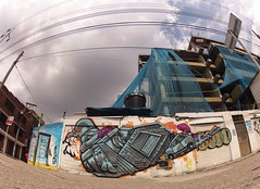 Bogotá, Colombia. (Sermob 1) Tags: streetart graffiti arteurbano