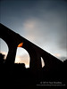 Wedge (ScudMonkey) Tags: bridge silhouette canon landscape viaduct slowshutter wedge 6d hartlepool dene ef1740mmf4l crimdon neengland nd1000 nd110 c2014paulbradley