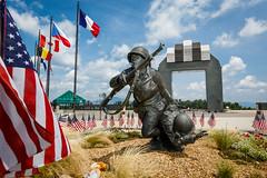 National D-Day Memorial in Bedford VA