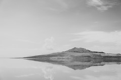 Shaped Like a Diamond (wenzday01) Tags: statepark park travel bw reflection nature water utah ut nikon horizon monotone antelopeisland saltlakecity saltlake greatsaltlake adobe nikkor lightroom antelopeislandstatepark d90 nikond90 18105mmf3556gedafsvrdx