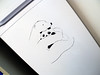 Bear hug (eneMilimetros) Tags: bear oso stencil panda refrigerator pandabear whitebear heladera