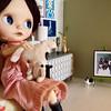 Home life (Hitty Evie) Tags: miniature charlotte willie furnishings zaloa squeakymonkey violetpie dollylove tadasrevolution