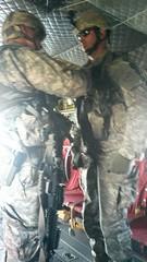 20140607-Z-Clark-04 (New York National Guard) Tags: 3rdbattalion det1 2ndbattalion senecaarmydepot nysoldiersofdeltacompany 108thinfantryfromithaca hadtheuniqueopportunitytotrainwithtwoch47chinookhelicoptersandtheircrewsfrombravocompany 126thaviationoutofrochesterthetrainingtookplaceatsenecaarmydepotlocatedintheheartofthefingerlakesbetweensenecaandcayugalakesnewlytrainedpathfinderandairassaultsoldierstrainedthecompanyonhowtoslingloadthecodup theflightcrewsverifiedtheloadsandgaverehearsalsfortheloadingandunloadingtheaircrafteachofthetrainedhookupcrewsrotatedthroughhookingtheslingloadsupandthechinooksflewashortpatternwiththe5 000lbsand12 000lbshumveeseachofthefourassaultplatoonsincodwereflownaroundcanandaiguaandkeukalakeswhileaboardthehelicoptercaptclarkwasabletopromotespcjoshuameriwethertosergeant
