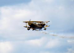 Trig Aerobatic Team at Biggin Hill Festival of Flight (WlNGS) Tags: uk plane kent formation airshow avion biplane airdisplay bigginhill pittsspecial festivalofflight egkb bqh bigginhillairport closepass gpiii giiip trigaerobaticteam