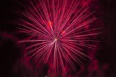 fuegos artificiales palleja 2014 (jlmontes) Tags: longexposure red night noche rojo fireworks fuegosartificiales largaexposición nikkor35mm nikond3100 jlmontes