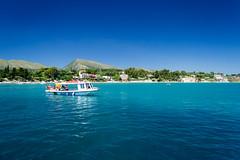 Zakynthos (Zante) 2014 (DavidMcCourt) Tags: blue sea summer sky mountains beautiful landscape island boat nikon scenery europe greece zante zakynthos 2014 d3100 nikond3100