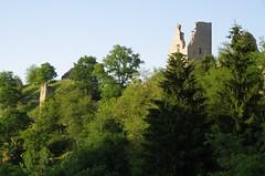 Crozant ruins