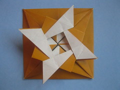 Ángel Écija's decoration #1 (georigami) Tags: paper origami papel papiroflexia