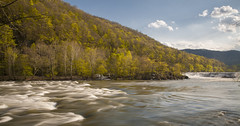 April is o.k. (~Fred Wolfe~) Tags: westvirginia waterfalls sandstonefalls