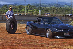 Tire (aaron_boost) Tags: hawaii oahu miata clubroadster aaronboost aaronboostgarage