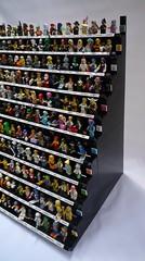 LEGO Collectable Minifigure (CMF) Display Stand (Chris 'Lucifer' Adams) Tags: lego moc afol cmf minifigures displaystand legominifigures