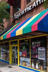 Toys in the Attic (jwcjr) Tags: window storefront toysintheattic daltonga daltongeorgia toysintheatticdalton