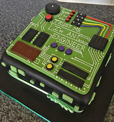 Engineer Graduation Cake