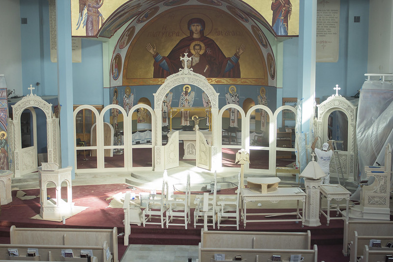 narthex furniture st demetrios. Black Bedroom Furniture Sets. Home Design Ideas