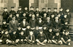 The Life Boys (Dundee City Archives) Tags: old church boys photos dundee victorian historic era minister brigade thelifeboys olddundeephotos
