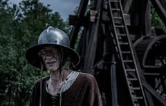 Tired Medieval Soldier (Thomsen07) Tags: soldier nikon medieval tired dk nikond3200 nykbingfalster middelaldercenteret nikon18105