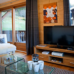 Lounge at Apartment Pleney - More Mountain Self-catered Apartments in Morzine