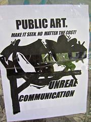 Unreal Communication, Ann Arbor, MI (Robby Virus) Tags: street art public michigan annarbor communication artists unreal