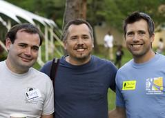 Greg, Mark and Christian