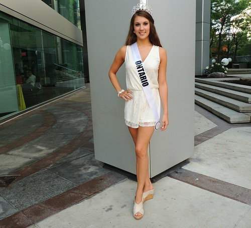 Miss Ontario Contestant For Miss Teenage Canada Beauty Pageant Competition .... Toronto, Ontario