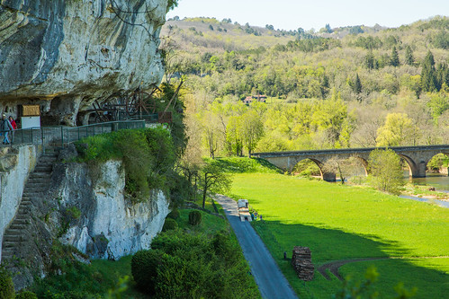 France - Dordogne - Roque Saint-Christophe V1