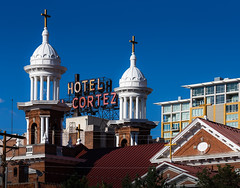 No Rest for the Wicked (darth.gnostic) Tags: city architecture buildings downtown nevada reno 2014 elcortezhotel