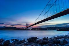 Tsing Ma Bridge (mikemikecat) Tags: landscape hongkong voigtlander magicmoment tsingma tsingmabridge saitsowan vm21 西草灣