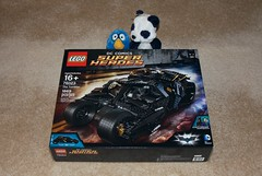 LEGO 76023: The Tumbler (Han Shot First) Tags: panda lego batman batmobile tumbler lego76023