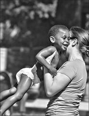 A Bond of Joy (Scott 97006) Tags: boy smile lady happy arms joy mother bond leap glee