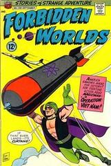 Forbidden-Worlds-138 (Michael Vance1) Tags: sf art comics artist adventure superhero comicbooks sciencefiction bomb supernatural cartoonist suspense silverage