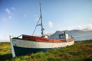 Boat at Breiðdalsvík