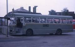 YRF136H (21c101) Tags: 1969 20 pennine 1973 busstation seddon greenbus yrf136h