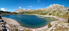 Lac d'Allos 2014 (aups83) Tags: camping panorama mountain lake france alps montagne alpes nikon ciel provence mercantour allos d90 bivouac alpesfrançaises lacdallos alpsfrench lakeallos