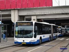 GVB Amsterdam 323, Lijn 55, Station RAI (2014) (Library of Amsterdam Public Transport) Tags: bus netherlands buses amsterdam nederland publictransport autobus paysbas citybus gvb openbaarvervoer autobuses vervoer stadsarchief stadsbus tram5 gvba gemeentevervoerbedrijf