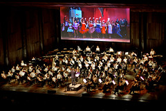West Side Story with The Philadelphia Orchestra (manncenter) Tags: philadelphia dinner photography evening dancers unitedstates pa crescendo davidnewman conductor westsidestory fairmountpark dancestudio themanncenter derekbrad thephiladelphiaorchestra mainlineballroom