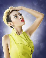 Yellow (Abel Brata) Tags: beauty model retouch digitalimaging beautyretouch