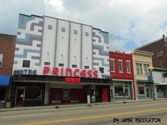 The Princess Theater (xandaii) Tags: cinema film movie theater theatre tennessee restored movies harriman oldbuilding