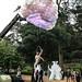 Lyra performs on her hoop