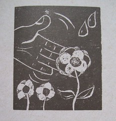 ilus_minha flor (Fernanda Ocanto) Tags: livro ilustraes xilogravuras fernandaocanto themisgotheliphe mateuslner