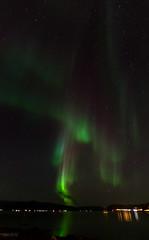 Northern sky (T'aita, busy for some time) Tags: nikon noflash northernlights auroraborealis troms nordlys noorderlicht northnorway auroraboreale auroraboreal nordlichter nordspissen nikond7000