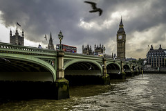 Westminster Bridge and Big Ben 2 (mph1966) Tags: city uk england urban london water westminster thames canon river iso100 bigben 7d 24mm f8 thamesriver westminsterbridge 24105 londonengland elizabethtower 24105l canon24105l canon24105 1160seconds canon7d
